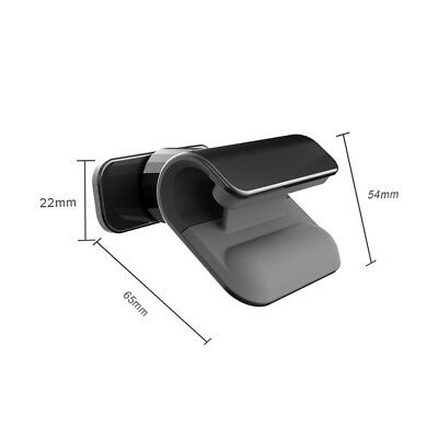 Interior Gravity Car Phone Holder 4 – 7 Inch Mounts Stand Fits  iPhone Samsung
