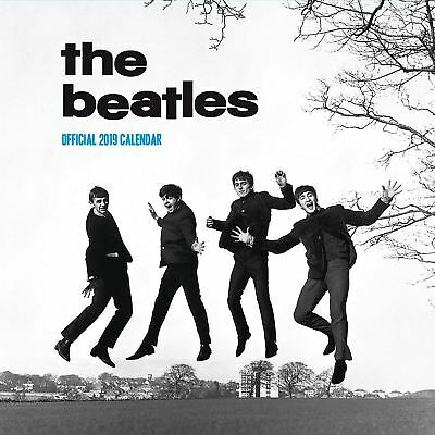 The Beatles Official 2019 Wall Calendar Square New & Sealed