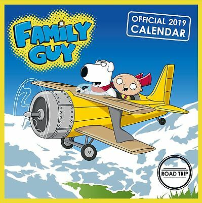 Family Guy Official 2019 Wall Calendar Square New & Sealed