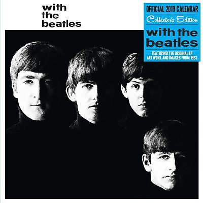 The Beatles Collectors Edition Official 2019 Wall Calendar Record Sleeve Cover