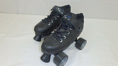 Brand New Black Pacer Mach-5 GTX500 Quad Speed Roller Skates