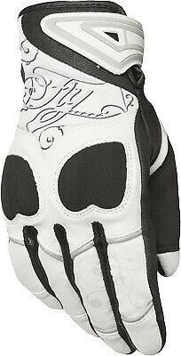 Fly Racing Venus Ladies Gloves / White - All Sizes