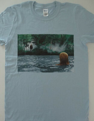 177c63006 Friday The 13th Horror Movie Jason Voorhees Watching Camp Crystal Lake T- Shirt