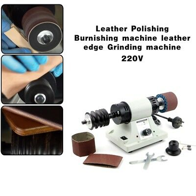 110V/220V Leather Polishing Burnishing Machine Leather Edge Grinding 8000RPM 1PC
