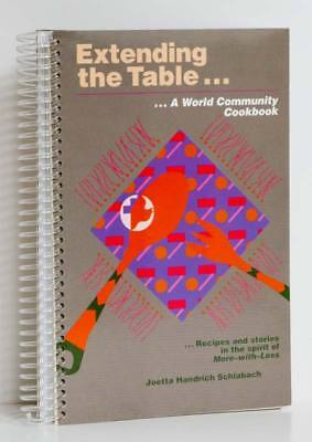 MENNONITE Cookbook ETHNIC Church Recipes Foreign Cuisine Extending The Table