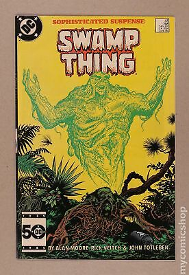 Swamp Thing (2nd Series) #37 1985 VF- 7.5