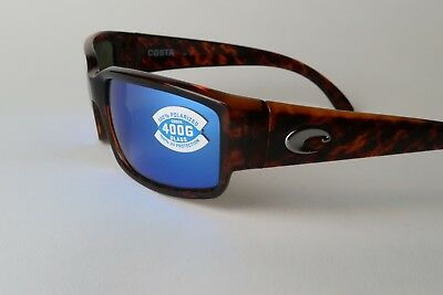 b264b8ea770a COSTA DEL MAR Caballito POLARIZED Sunglasses tortoise 400G glass lens NEW NR