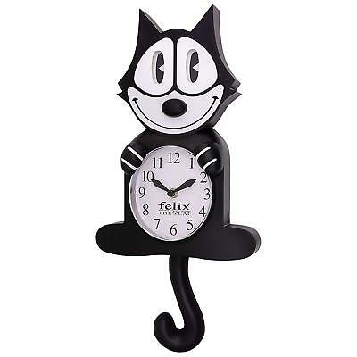 Felix The Cat 3D Motion Wall Clock, Cat Lovers Christmas Collection Gift.