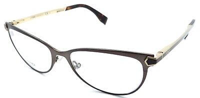 6f2ff95722 FENDI FF 0024 7WG Eyeglasses Bronze Brown Havana Gold Frame 53mm ...