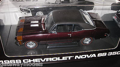 1.18 1968 Chevrolet Nova Ss 350 Peachstate Collectibles By Gmp Ltd Ed Awesome