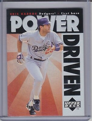 ERIC KARROS 1996 Upper Deck Power Driven #PD8 (D1048)