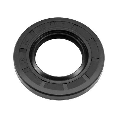 Oil Seal, TC 30mm x 55mm x 7mm, Nitrile Rubber Cover Double Lip