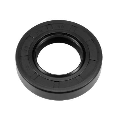 Oil Seal, TC 28mm x 52mm x 10mm, Nitrile Rubber Cover Double Lip