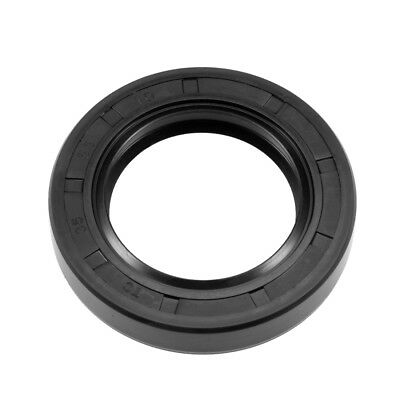 Oil Seal, TC 35mm x 55mm x 10mm, Nitrile Rubber Cover Double Lip