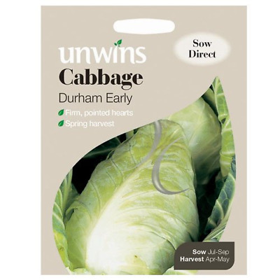 Unwins Cabbage Durham Early Seeds