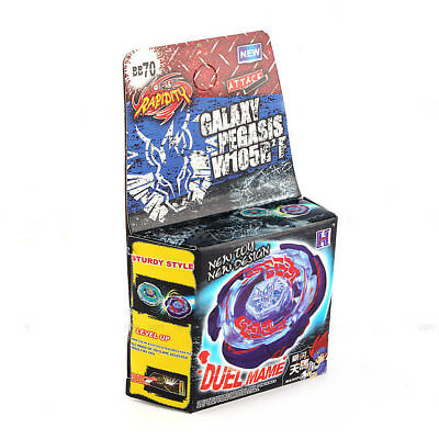 Galaxy Pegasus / Pegasis Metal Fury 4D Legends Beyblade Hyperblade BB-70