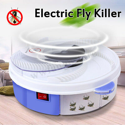 Electric Environmental Mute Fly Killer Zapper Mosquito Inset Catcher Pest Bug