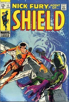 Nick Fury Agent of SHIELD (1st Series) #11 1969 VG+ 4.5 Stock Image Low Grade