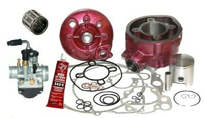 NEW TUNING 90CC CYLINDER CARBURETTOR KIT SET for YAMAHA DT R X SM 50 AM6 LC