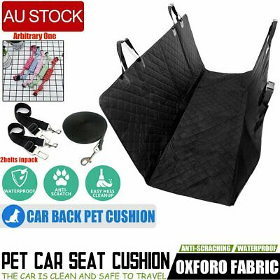 Pet Dog Car Seat Cover Nonslip Hammock Mat For Truck SUV Back Seat Waterproof