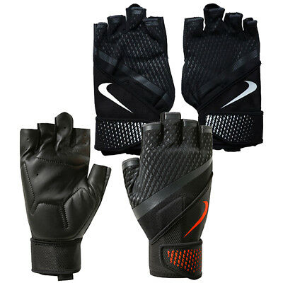 Nike Destroyer Weight Training Lifting Gloves Fitness Gym Workout Fingerless