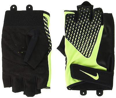 Nike Core Lock Mens Training Gloves 2.0 Gym Workout Weight Lifting Fingerless