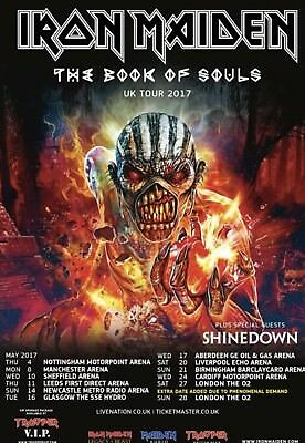 Iron Maiden Tour Poster 2017 Fridge Magnet