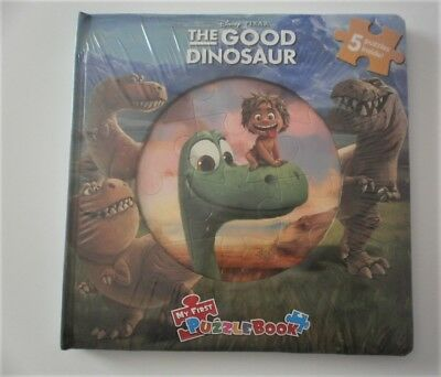 The Good Dinosaur My First Puzzle Book 5 jigsaw puzzles New Sealed Disney Pixar