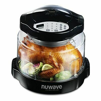 NuWave ERK-UK Oven Pro Plus Black 1500W With Precise Temperature Control