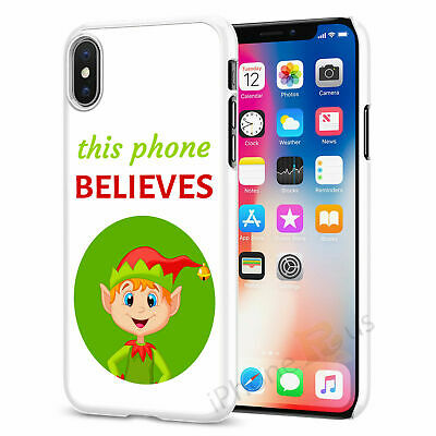 Christmas Elf Phone Case Cover For All Top Models iPhone Samsung Huawei 065-1