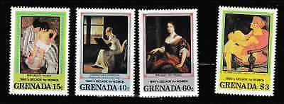 Grenada - Decade for Women 1980s - 4 mint stamps