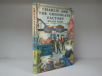 Roald Dahl - Charlie And The Chocolate Factory - 1st/3rd Print - 1971 (ID:807)