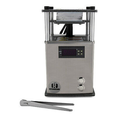 ROSINBOMB ROCKET - Personal Rosin Press for Solventless Extraction