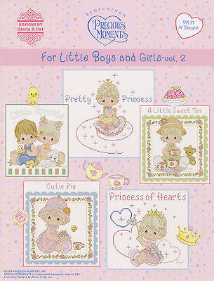 Precious Moments Cross Stitch Pattern Book ~ For Little Boys and Girls V.2 PM 71