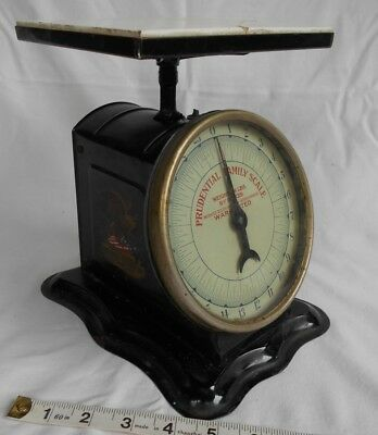 Prudential Family Scale Chicago Cutlery Co. USA ANTIQUE 24lb.