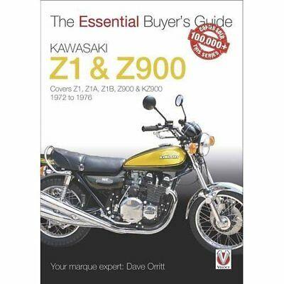 Kawasaki Z1 & Z900: 1972 to 1976 (Essential Buyer's Gui - Paperback NEW Orritt,