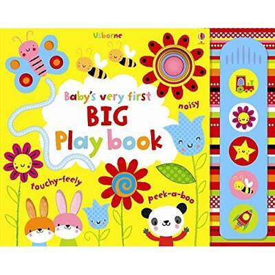 Baby's Very First Big Play Book (Baby's Very First Book - Board book NEW Fiona W