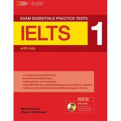 Exam Essentials IELTS Practice Test 1 with Key (Exam Es - Paperback NEW Mark Har