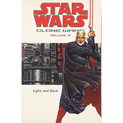 Star Wars: The Clone Wars - Light and Dark (Star Wars) - Paperback NEW Ostrander