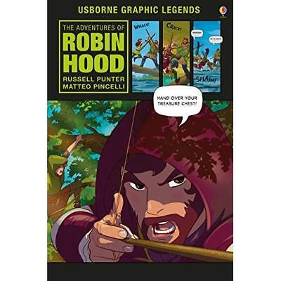 The Adventures of Robin Hood - Hardcover NEW Punter, Russell