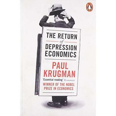 The Return of Depression Economics and the Crisis of 20 - Paperback NEW Krugman,