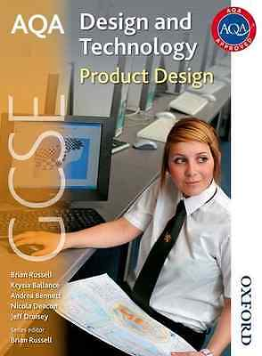 AQA GCSE Design and Technology: Product Design - Paperback NEW Draisey, Jeff 200