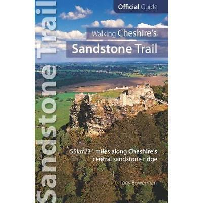 Walking Cheshire's Sandstone Trail : Official Guide - 3 - Paperback NEW Tony Bow