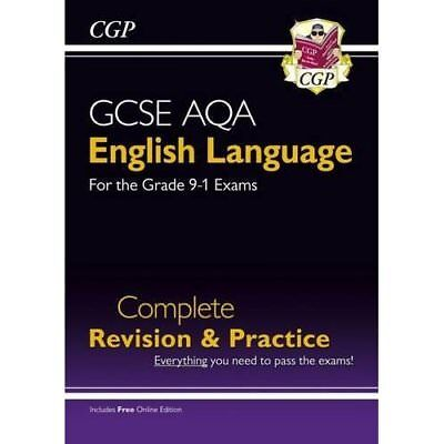 New GCSE English Language AQA Complete Revision & Pract - Paperback NEW CGP Book
