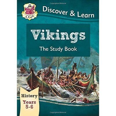 KS2 Discover & Learn: History - Vikings Study Book, Yea - Paperback NEW Books, E