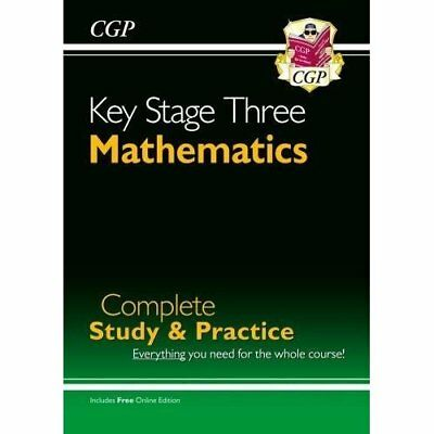 KS3 Maths: Complete Revision and Practice (Complete Rev - Paperback NEW Parsons,