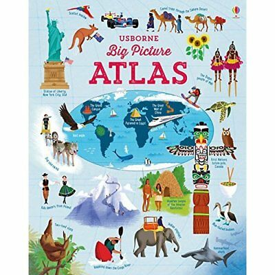 Big Picture Atlas (Atlases) - Hardcover NEW Emily Bone(Auth 1 Sept. 2016
