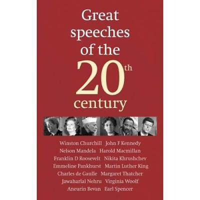 Great Speeches of the 20th Century - Hardcover NEW Guardian, The 2008-04-10