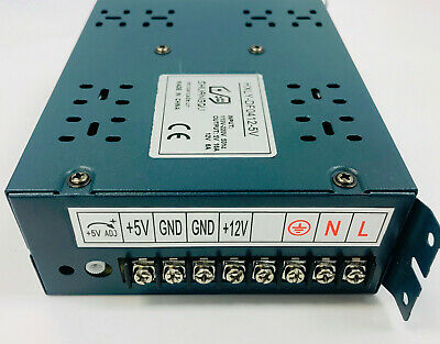 Switching Power Supply For Arcade Jamma / Pinball Output 5V/16A 12V/6A by Atomic