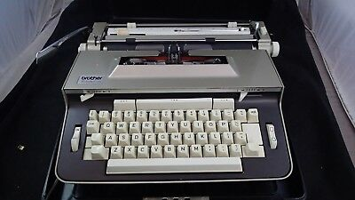 Vintage Brother Pro Lectric Electric Typewriter 1720